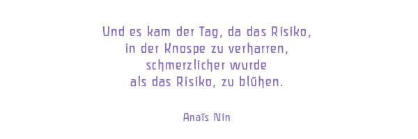 Gedicht von Anais Nin